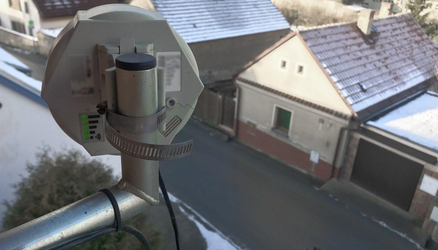 Anténa domácího routeru